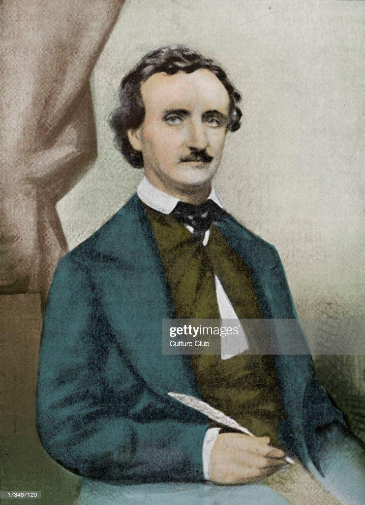 Edgar Allan Poe - : News Photo