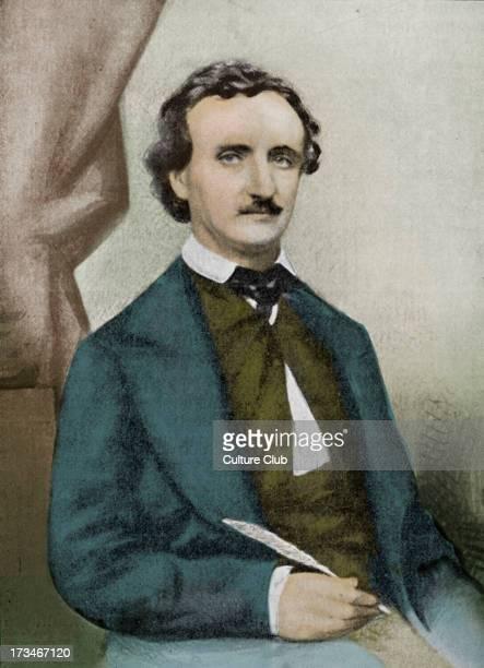 Edgar Allan Poe In 1849 American author poet 19 January 1809 7 October 1849