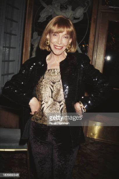 American author, publisher, and businesswoman Helen Gurley Brown attends the '49th Annual Writers Guild Awards Gala', 1997.