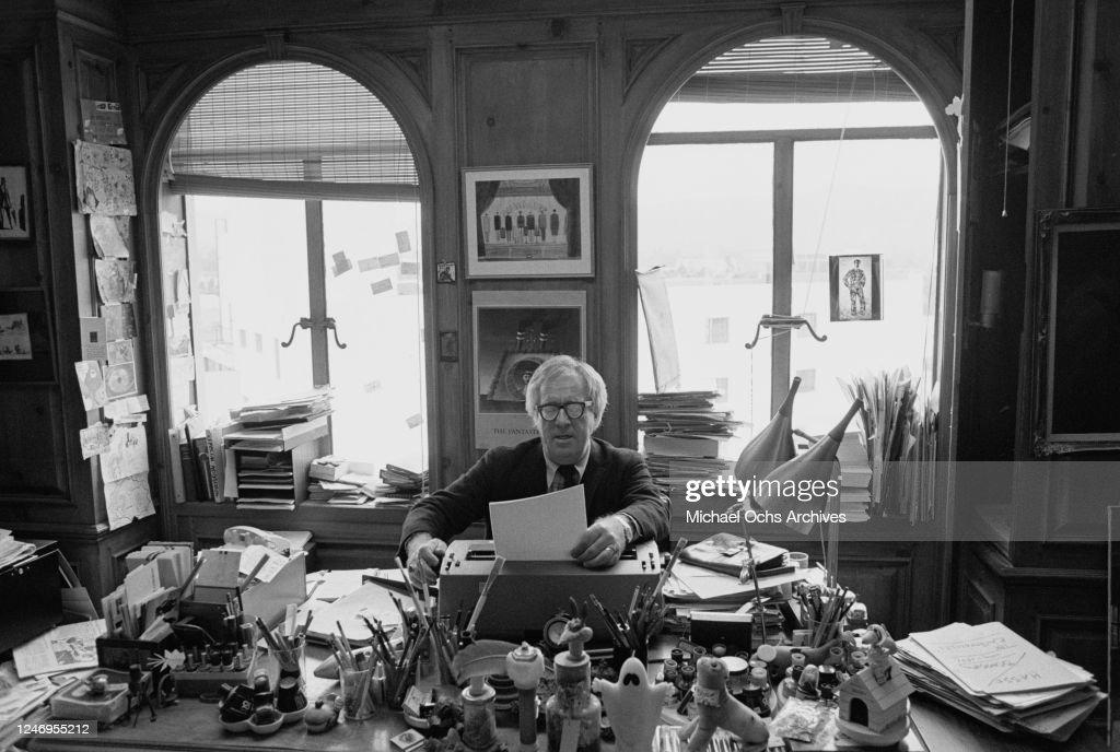 Ray Bradbury : News Photo