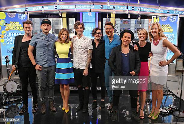 AMERICA American Authors perform live on 'Good Morning America' 7/17/15 airing on the ABC Television Network AMERICAN