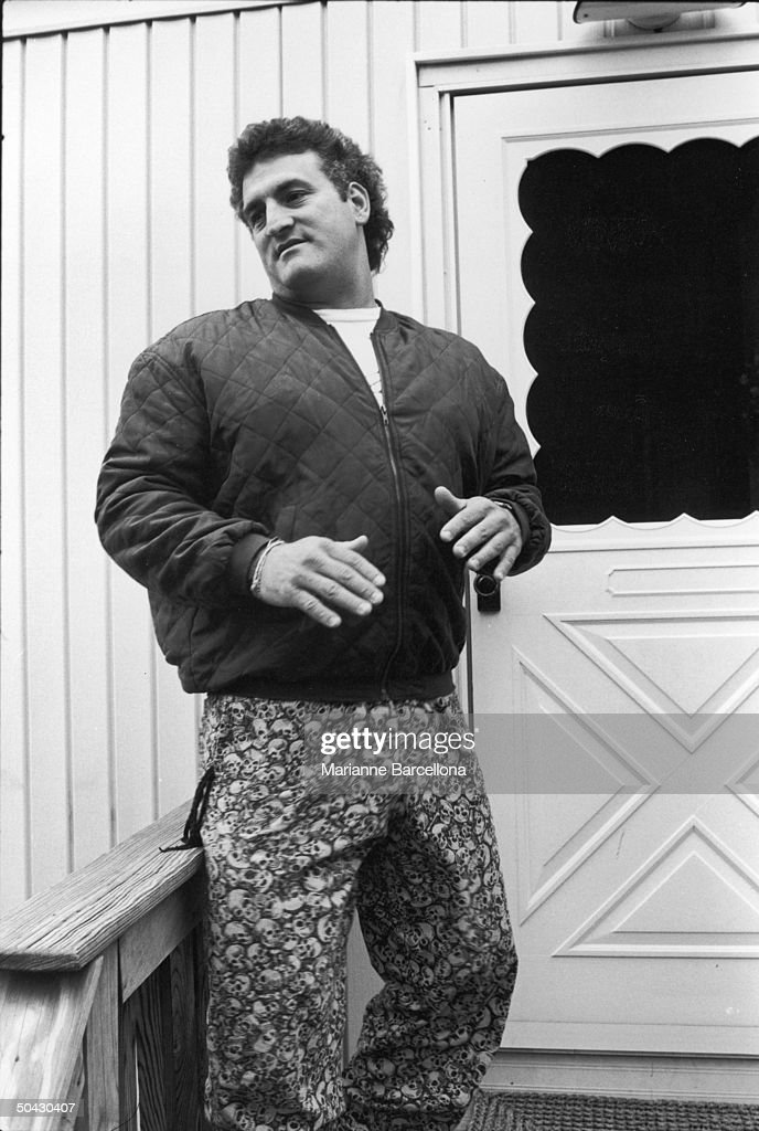 american auto repair shop owner joey buttafuoco  dressed