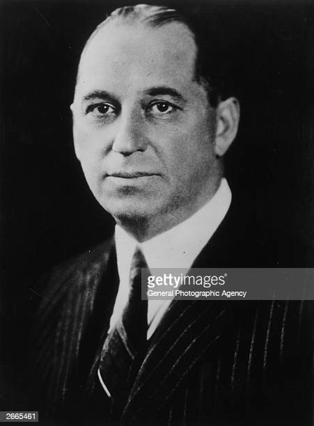 American automobile manufacturer Walter Percy Chrysler