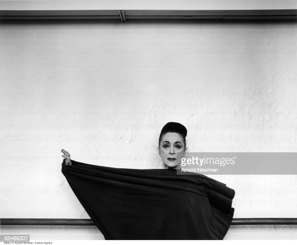 American avantgarde choreographer Martha Graham poses for portrait March 2 1961 in New York City