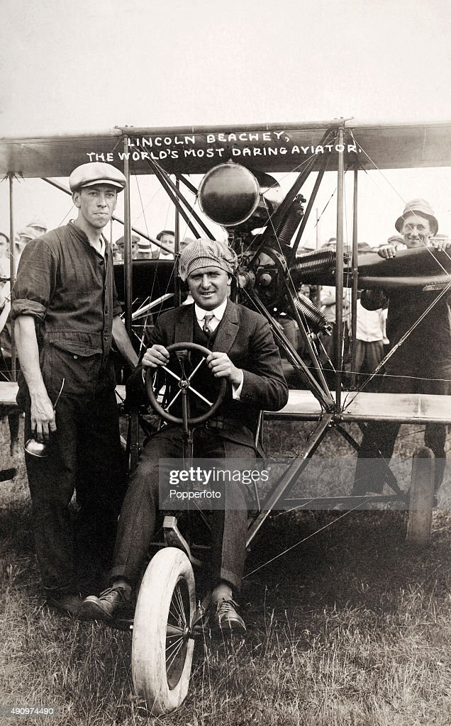 American aviation pioneer and barnstormer Lincoln Beachey,