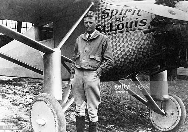 American aviator, Charles A. Lindbergh astounded the world on May 21, 1927 by landing in Paris after a solo, nonstop transatlantic flight in the...
