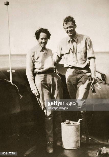 American aviator Charles Lindbergh and his wife Anne after their flight to Japan 1931 In May 1927 Charles Augustus Lindbergh made the first...