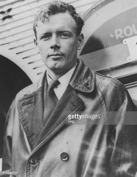 American aviator Charles Lindbergh , circa 1930.