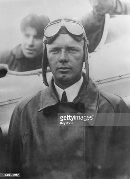 American aviator Charles Lindbergh , circa 1932.