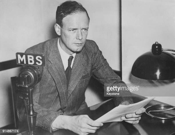 American aviator Charles Lindbergh makes a controversial radio broadcast from Washington, advocating Canadian neutrality in World War II, 24th...