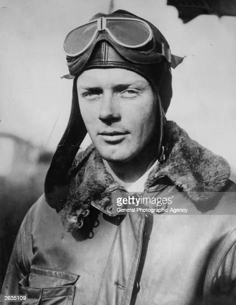 American aviator Charles Lindbergh . Original Publication: People Disc - HG0129