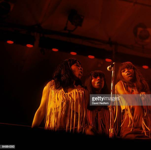 Photo of IKETTES and Ike Tina TURNER The Ikettes performing live onstage