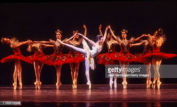 American ballerina Gelsey Kirkland , with the American Ballet Theatre company, performs during a full-dress rehearsal/photo-call of 'Theme and...