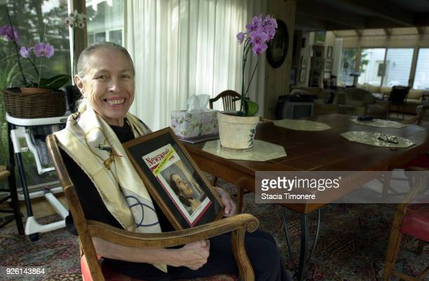 American ballerina Maria Tallchief in her home in Highland Park Illinois USA on September 29 2003
