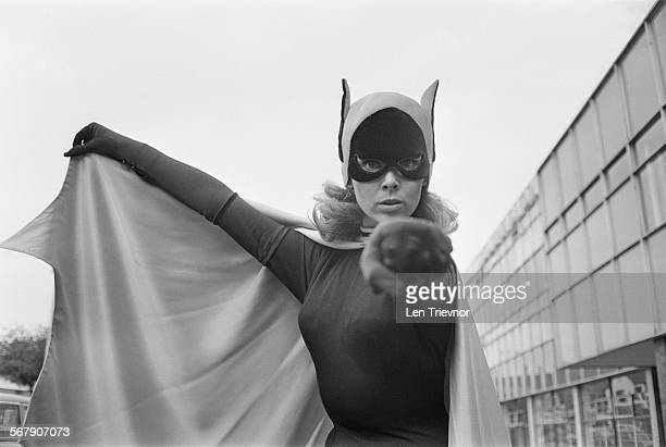 American ballet dancer and actress Yvonne Craig best known for her role as Batgirl from the US TV series 'Batman' UK 23rd September 1967