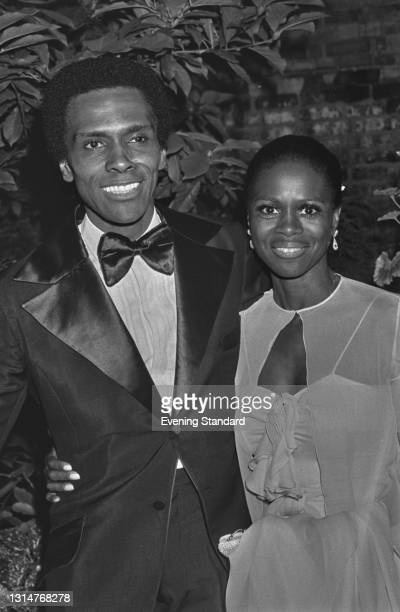 American ballet dancer and choreographer Arthur Mitchell , founder of the Dance Theatre of Harlem, in London for a season at the Sadler's Wells...