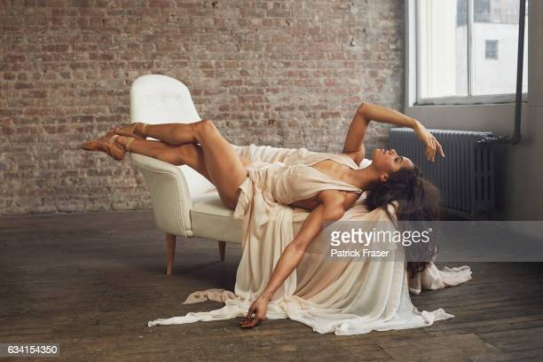 American ballet dancer for American Ballet Theatre Misty Copeland is photographed for Vanity Fair Magazine on May 4 2015 in New York City