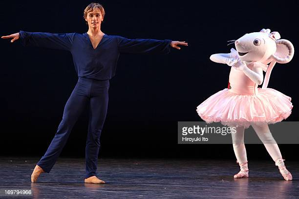 American Ballet Theater performing at City Center on Sunday afternoon October 31 2004'Angelina Ballerina' performed by from leftMaxim Beloserkovsky...