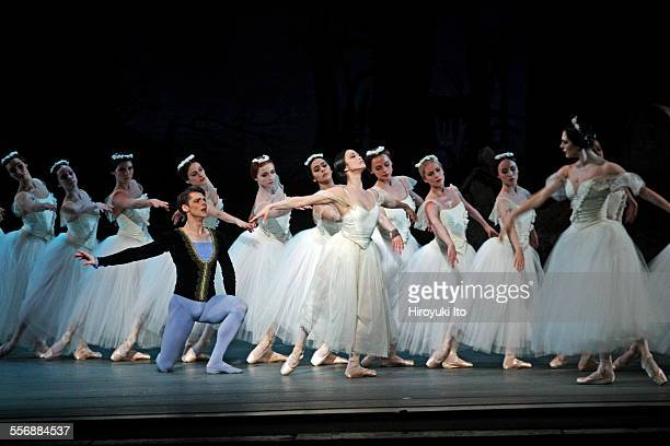 American Ballet Theater performing Giselle at Metropolitan Opera House on Saturday night May 23 2015This imageVladimir Shklyarov and Stella Abrera...