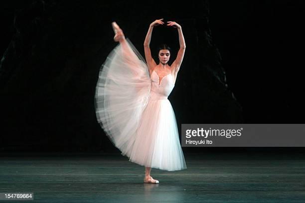 American Ballet Theater performing 'Giselle' at the Metropolitan Opera House on Saturday night June 13 2009This imageNatalia Osipova as Giselle