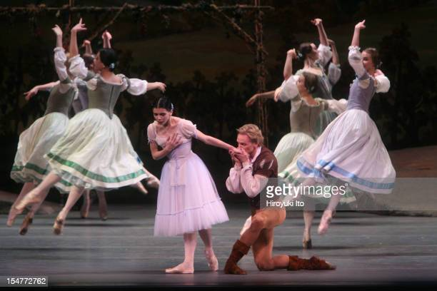 American Ballet Theater performing 'Giselle' at the Metropolitan Opera House on Saturday night June 13 2009This imageNatalia Osipova as Giselle and...