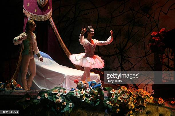 American Ballet Theater performing The Sleeping Beauty at the Metropolitan Opera House on Wednesday night June 6 2007This imageDiana Vishneva as...