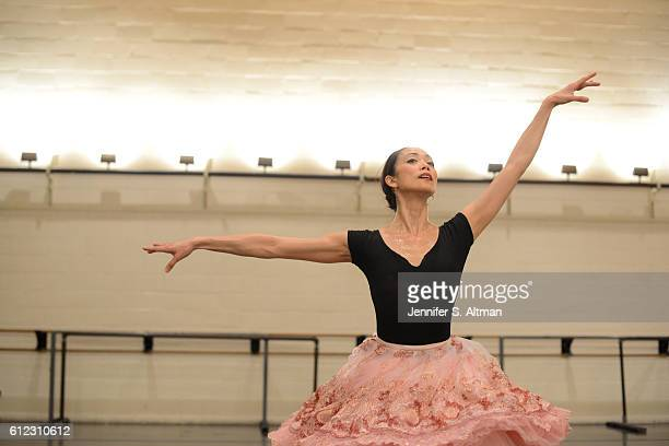 American Ballet Theater principal ballerina Stella Abrera is photographed for Los Angeles Times on June 25 2016 at Lincoln Center in New York City