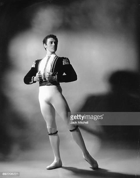 American Ballet Theatre dancer Bruce Marks in 'Don Quixote' 1966