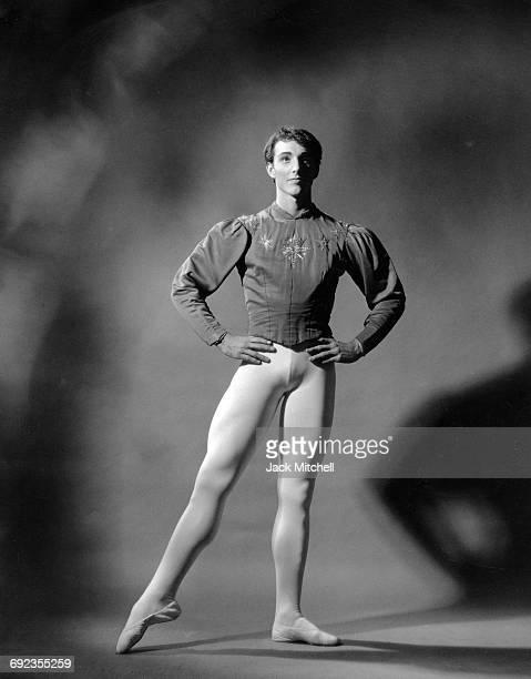 American Ballet Theatre dancer Burton Taylor in 'Grand PasGlazounov' 1966