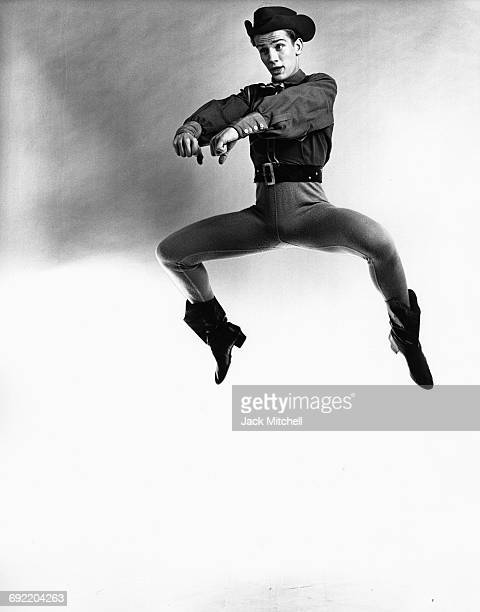 American Ballet Theatre dancer Paul Nickel in 'Billy the Kid' 1962