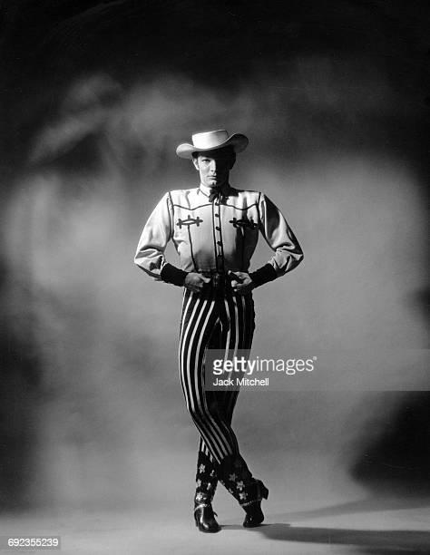 American Ballet Theatre dancer Scott Douglas in Eugene Loring's 'Billy the Kid' in 1966