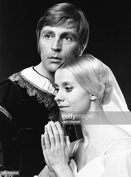 American Ballet Theatre principal dancers Erik Bruhn And Kirsten Simone performing 'Giselle' in 1969