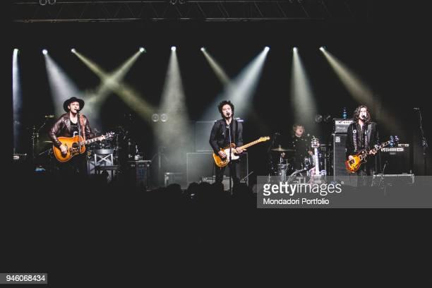 American band The Last Bandoleros performs at Fabrique, Milan , march 23, 2017