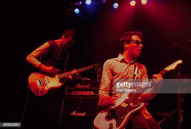 American band Weezer on stage 1994