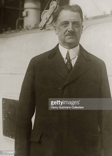 American banker Amadeo Giannini circa 1925 The son of Italian immigrants he founded the Bank of America and remained its president until his...