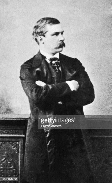 American banker and philanthropist John Pierpont Morgan 1862