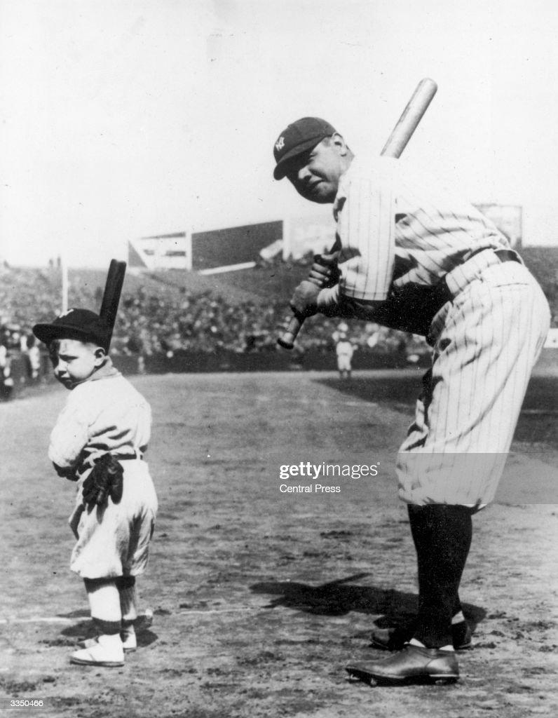 Babe Ruth : News Photo