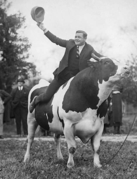 Babe Ruth Astride 'King Jess'