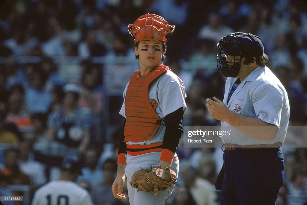 Carlton Fisk At Yankee Stadium : ニュース写真