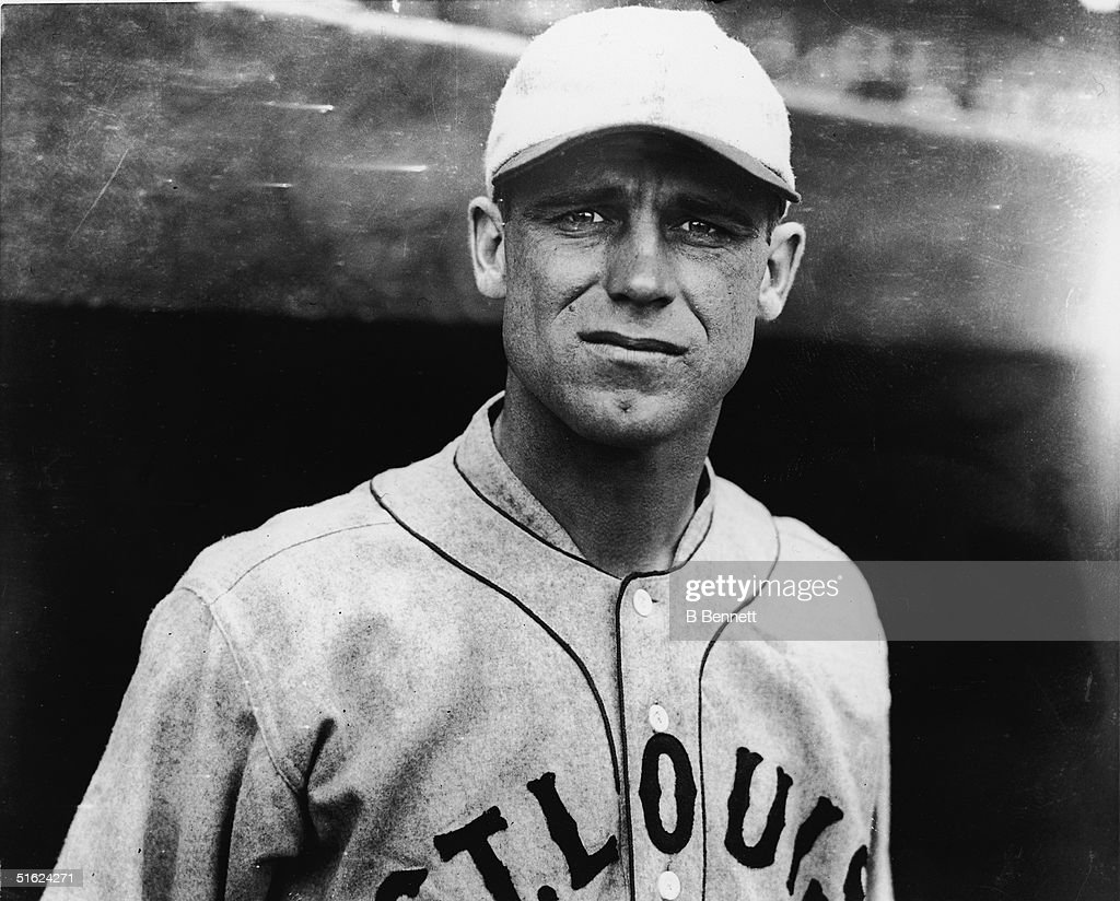'Gorgeous' George Sisler Of The St. Louis Browns : Nieuwsfoto's