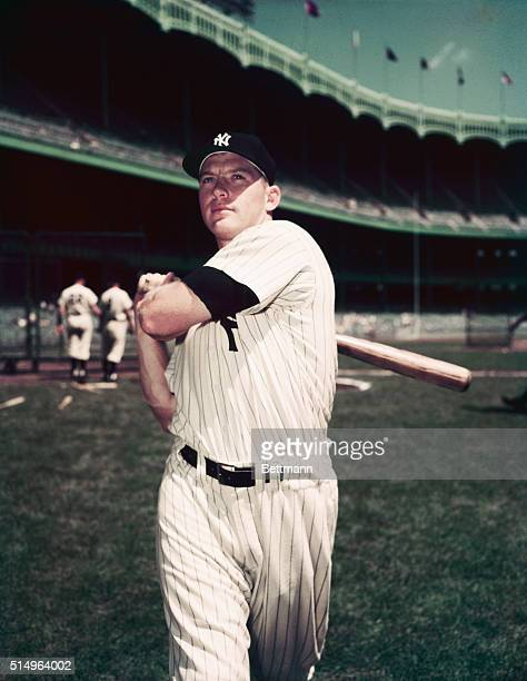 Publicity shot of Mickey Mantle