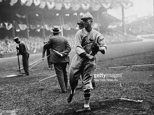 American baseball player Pete Alexander of the St Louis Cardinals late 1920s