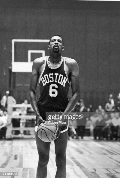 american basketball player bill russell of the boston
