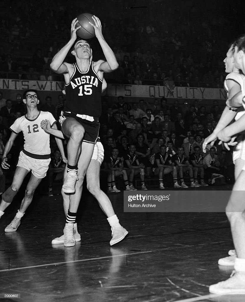Dave DeBusschere Plays In High School Game : News Photo