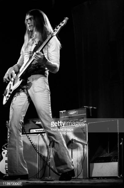 American bassist and vocalist with the country rock band Poco, Timothy B. Schmit performs in Central Park at the Schaefer Music Festival, July 30 in...