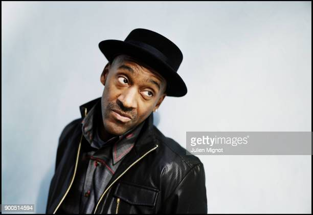 American bassist Marcus Miller is photographed for M Magazine on November 2009 in Paris France