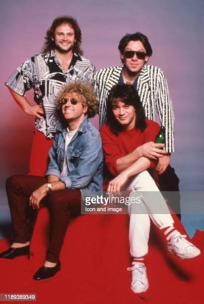 American bassist Michael Anthony DutchAmerican drummer Alex Van Halen DutchAmerican lead guitarist and songwriter Eddie Van Halen and American rock...