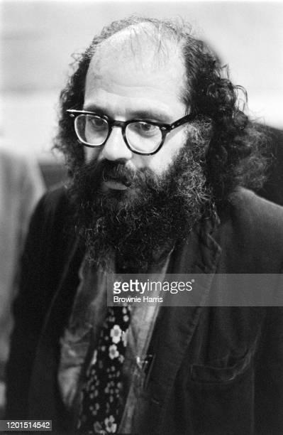 American Beat poet Allen Ginsberg , Richmond, Virginia, October 12, 1970.