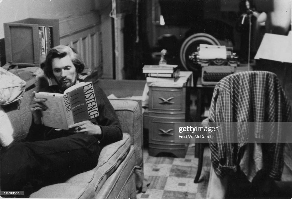 Ronald Von Ehmsen Reads At Home : News Photo