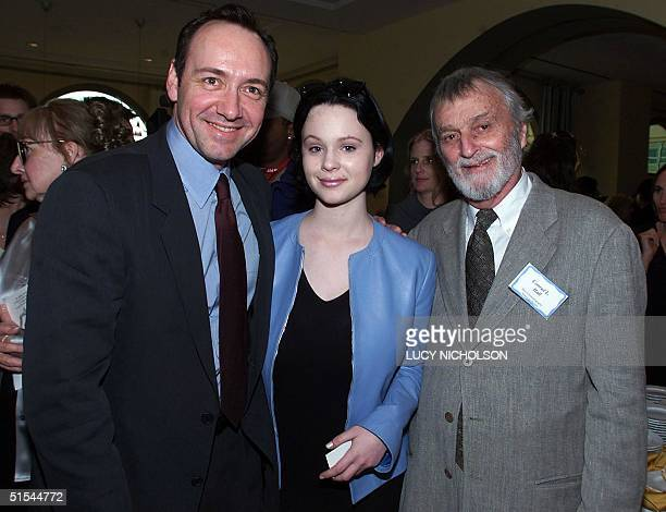 'American Beauty' filmmakers gather at the BAFTA LA Seventh Annual Oscarnominees' tea party Best Actor Oscarnominee Kevin Spacey actress Thora Birch...
